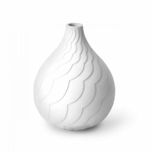 Cloud Vase weiss von Jonathan Adlerweiss