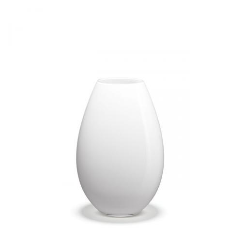 Cocoon Vase weiß H 17weiß