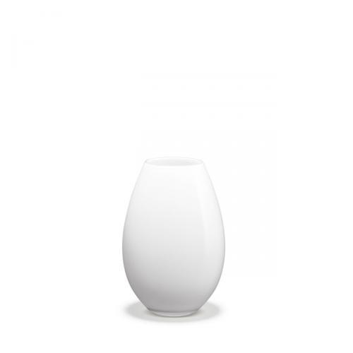 Cocoon Vase weiß H 20