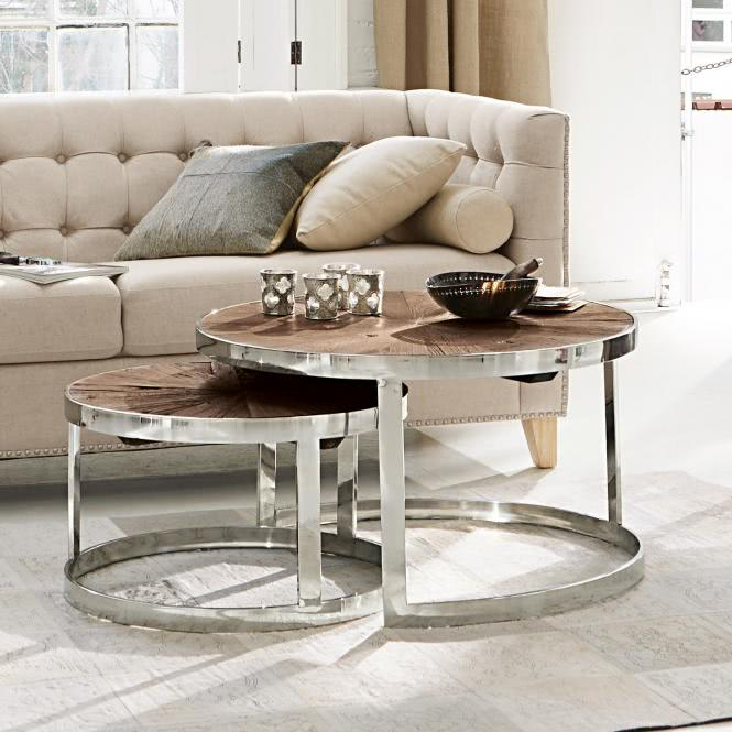 couchtisch 2er set houghton braun online kaufen bei woonio. Black Bedroom Furniture Sets. Home Design Ideas