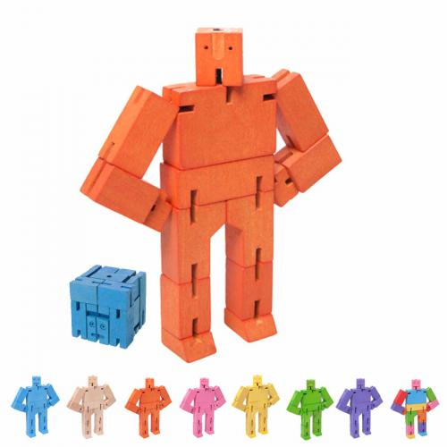 Cubebot Micro Orange von AreawareorangeXS
