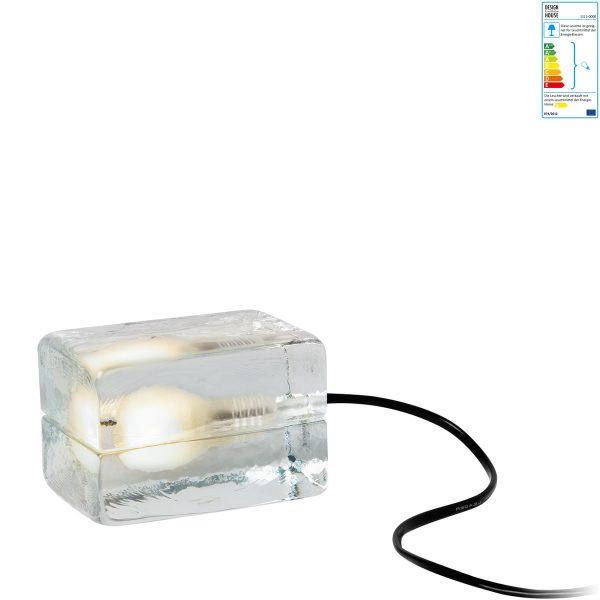 Design House Stockholm - Block Lamp MiniTransparent