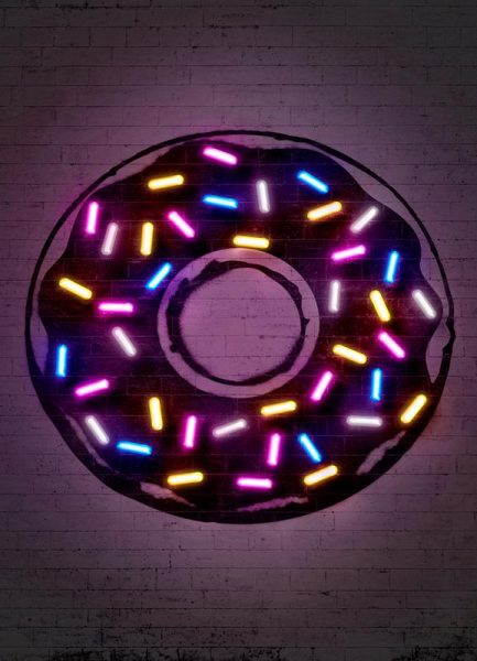 Donut Leinwandbild