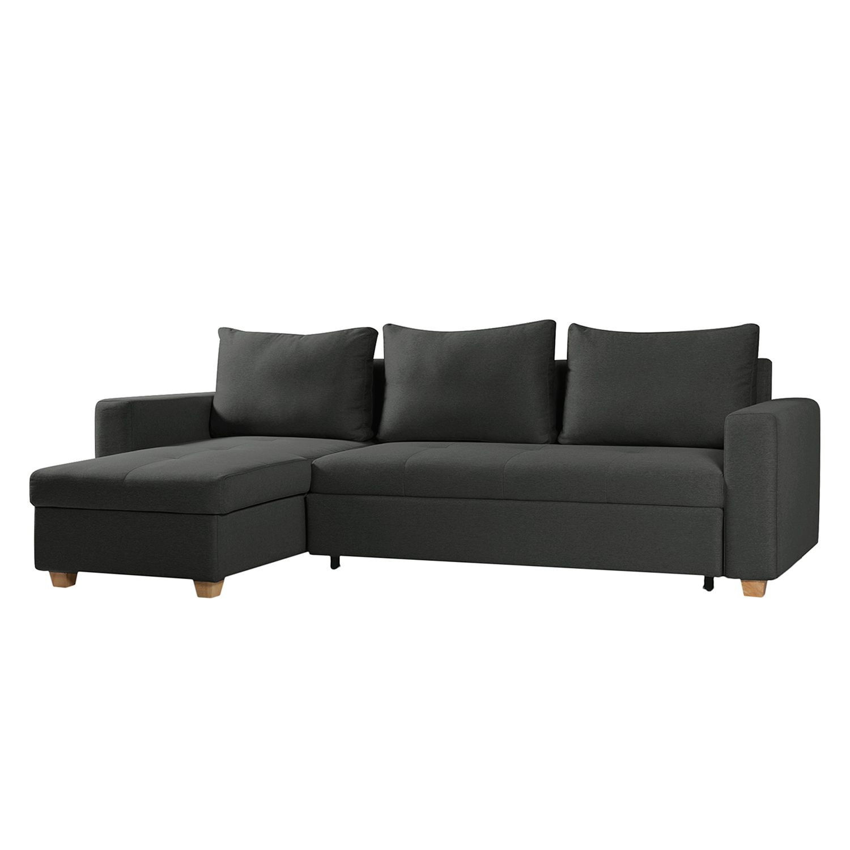 ecksofa crandon mit schlaffunktion webstoff longchair ottomane davorstehend links stoff. Black Bedroom Furniture Sets. Home Design Ideas