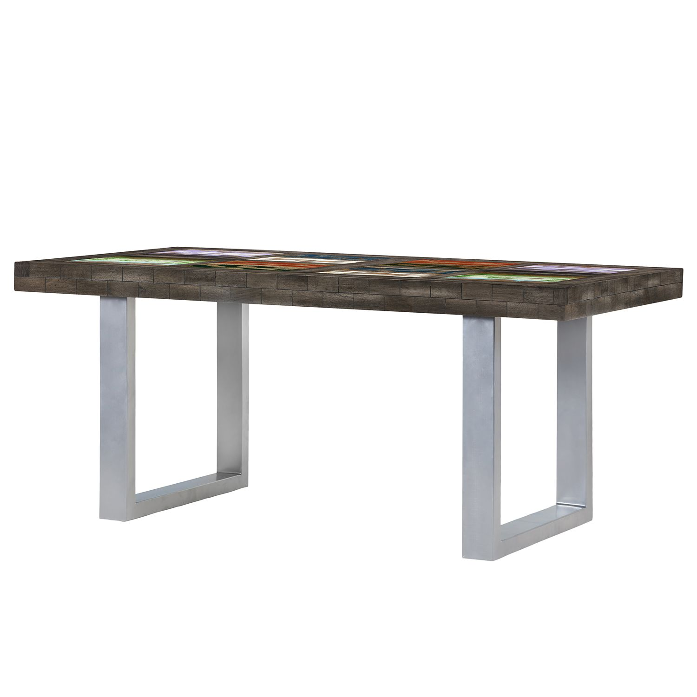 esstisch camibar vi mango massiv metall mehrfarbig. Black Bedroom Furniture Sets. Home Design Ideas