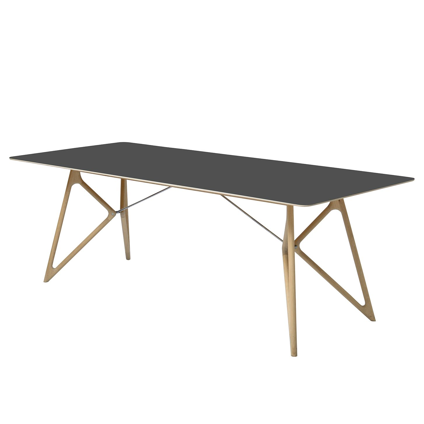 esstisch tink eiche massiv linoleum anthrazit eiche 180 x 90 cm studio copenhagen. Black Bedroom Furniture Sets. Home Design Ideas