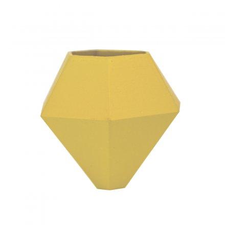 Fahrradvase BØK für horizontale Stangen gelb gelb Polyamid