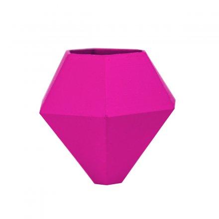 Fahrradvase BØK für horizontale Stangen pink pink Polyamid