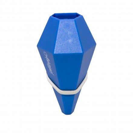 Fahrradvase LOM für horizontale Stangen blau blau Polyamid