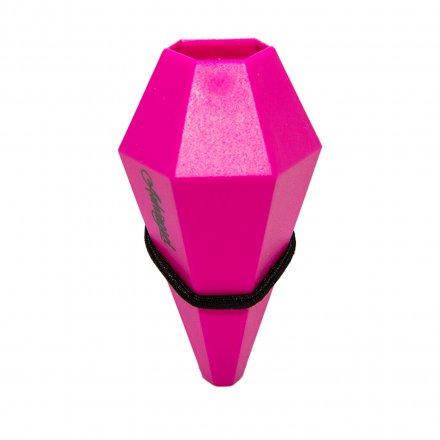 Fahrradvase LOM für horizontale Stangen pink pink Polyamid