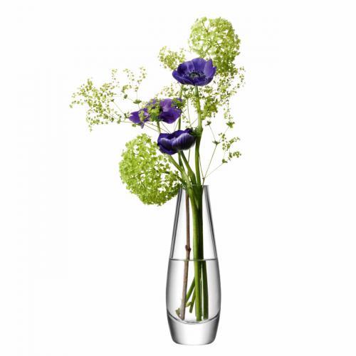 Flower Vase Einblütler h:17cm
