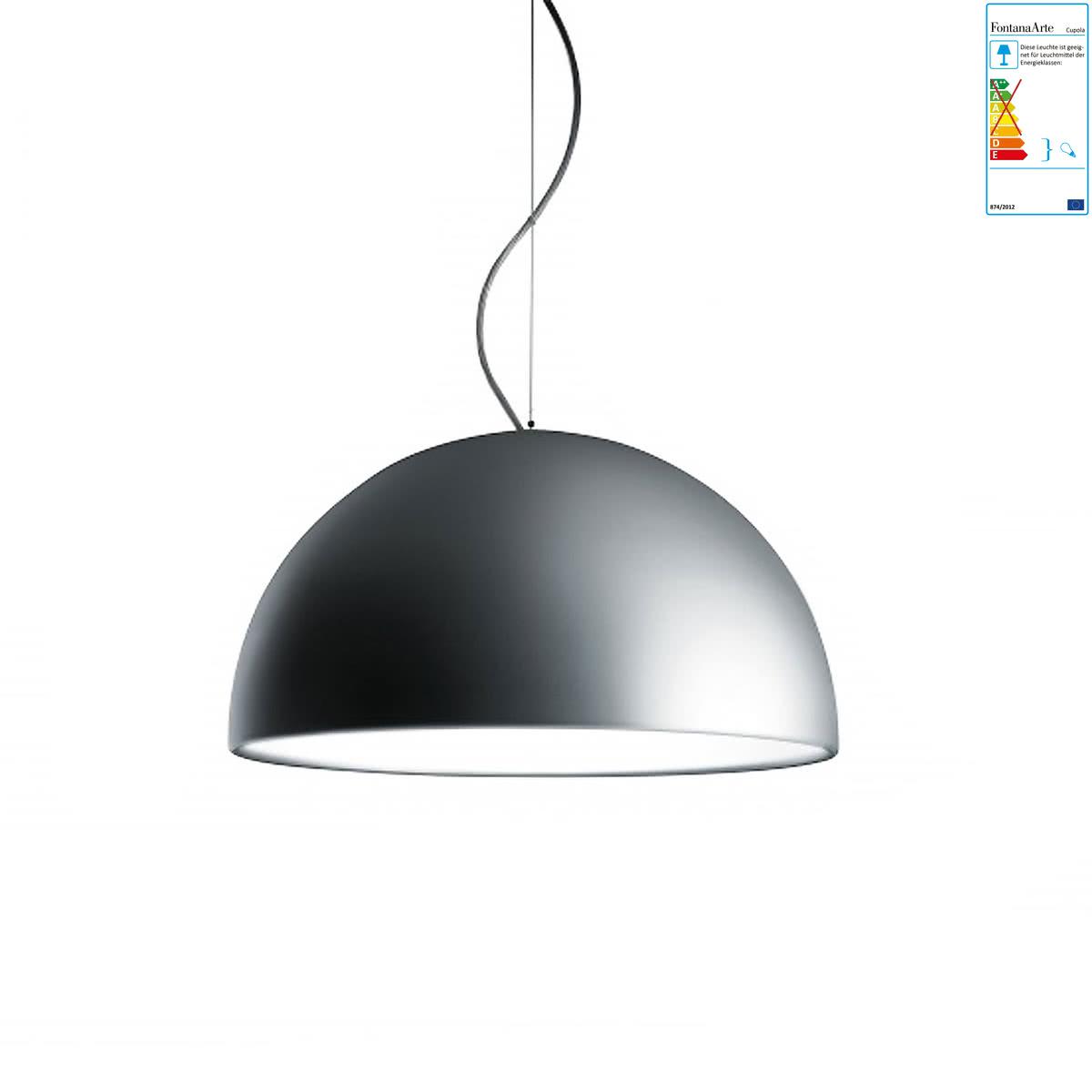 fontanaarte cupola pendelleuchte aluminium 40 cm aluminium h 20 online kaufen bei woonio. Black Bedroom Furniture Sets. Home Design Ideas
