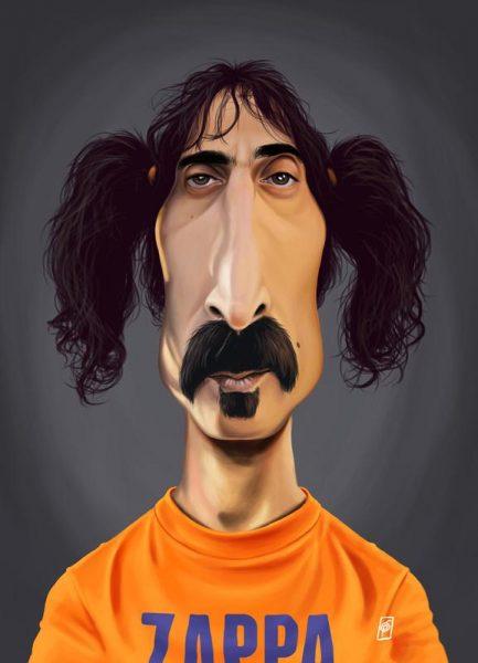 Frank Zappa Leinwandbild