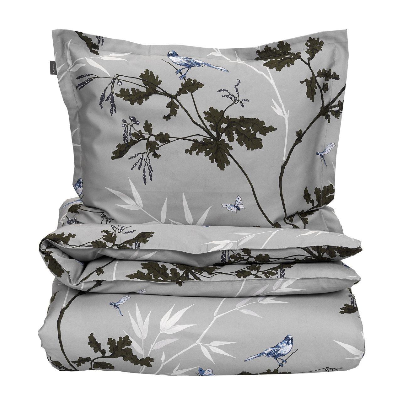 gant home birdfield duvet bettdeckenbezug online kaufen bei woonio. Black Bedroom Furniture Sets. Home Design Ideas