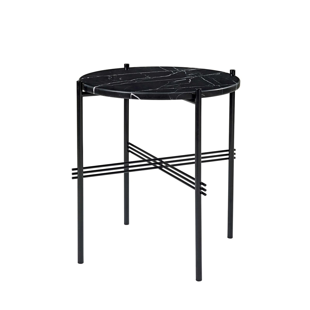 gubi ts couchtisch 40 cm schwarz marmor schwarz. Black Bedroom Furniture Sets. Home Design Ideas