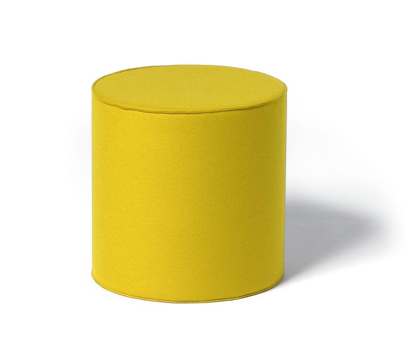 Hey sign rondo sitzhocker rund aus naturfilz online kaufen for Schlafsofa newheaven