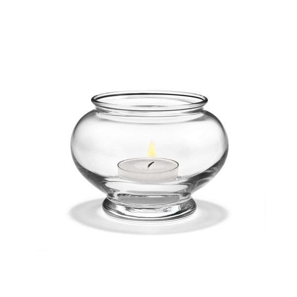Holmegaard - Old English TeelichthalterTransparent