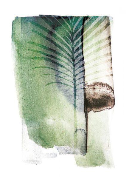 Jurassic Cycad Leinwandbild
