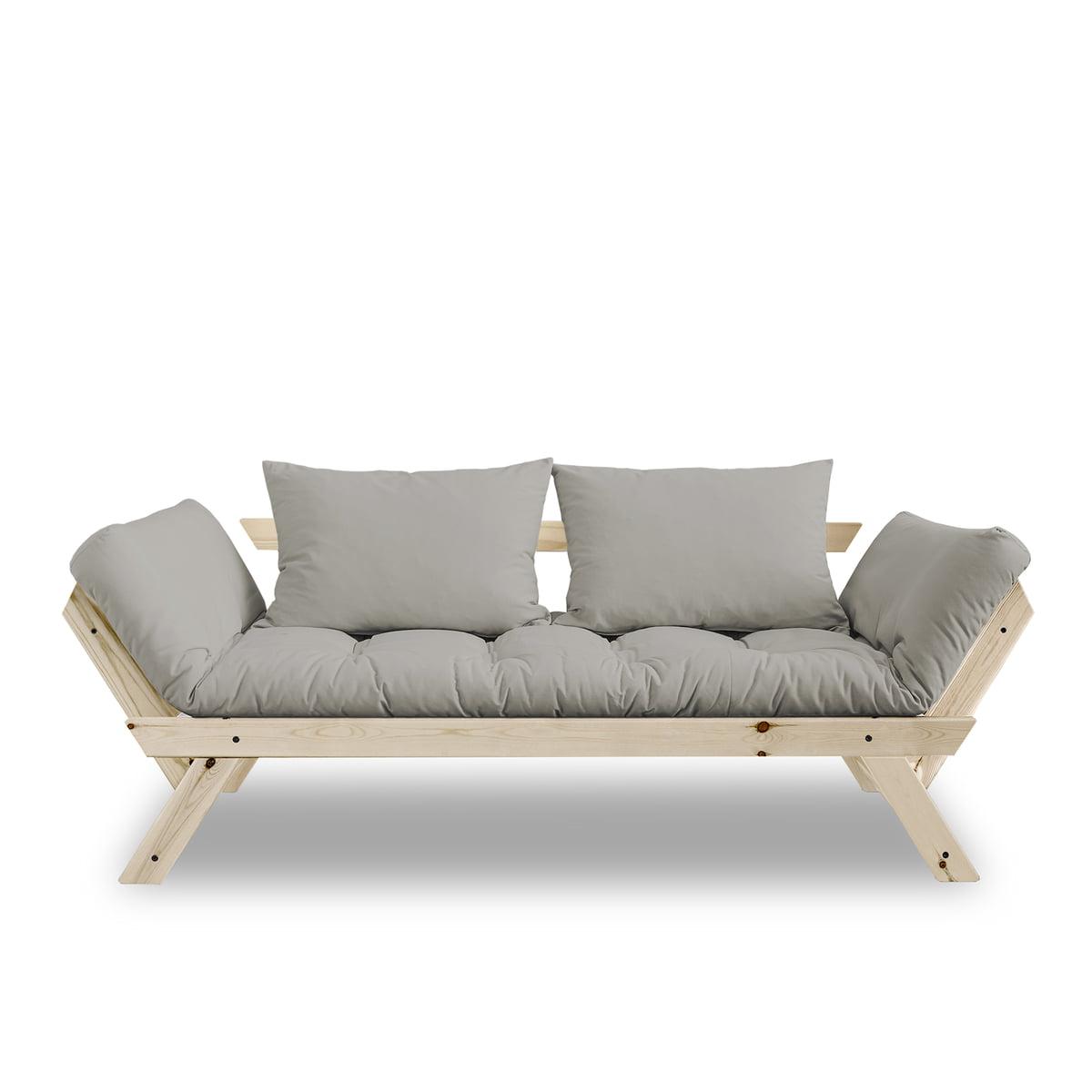 karup bebop sofa kiefer natur grau grau t 80 h 62 b 180 online kaufen bei woonio. Black Bedroom Furniture Sets. Home Design Ideas