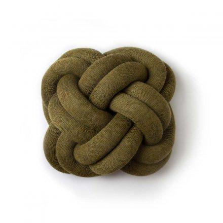 Kissen Knot grün grün 50% Baumwolle/50% Polyacryl
