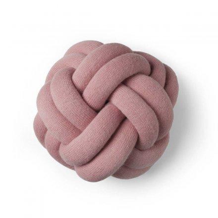 Kissen Knot pink pink 50% Baumwolle/50% Polyacryl