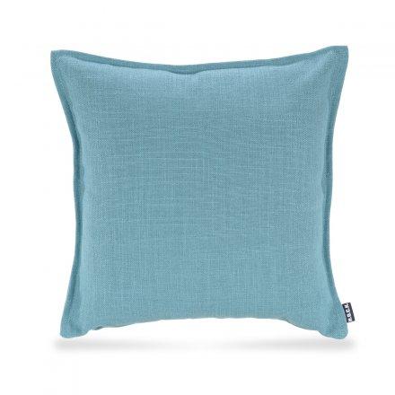 Kissen Manhattan 45x45cm aqua blau Leinen