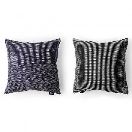 kissen melange ocean violett baumwolle viskose online. Black Bedroom Furniture Sets. Home Design Ideas