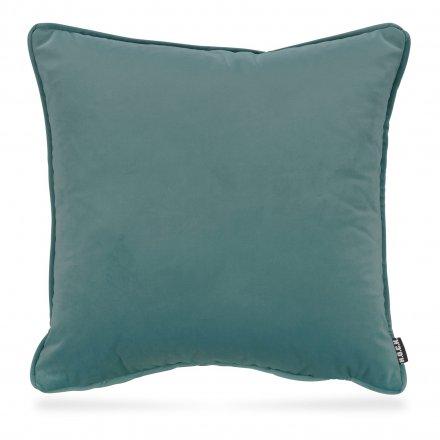 Kissen Nobile Samt 50x50 cm blau blau Polyester