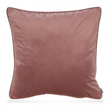 Kissen Nobile Samt 60x60 cm altrosa rosa Polyester