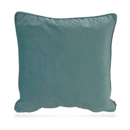 Kissen Nobile Samt 60x60 cm blau blau Polyester