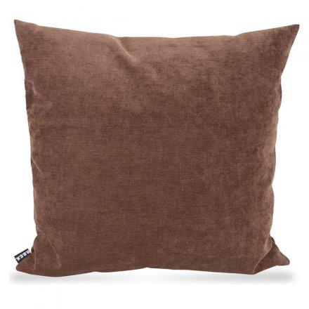 Kissen Versatil uni 50x50cm braun braun Polyester