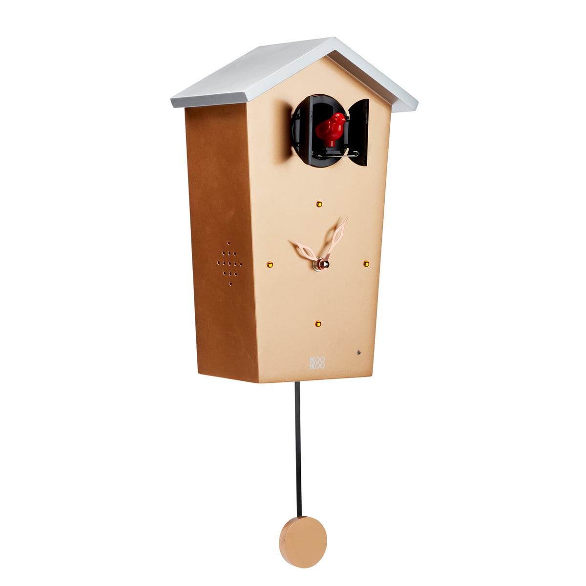 kookoo bird house kuckucksuhr gold limited edition gold h 27 b 17 online kaufen bei woonio. Black Bedroom Furniture Sets. Home Design Ideas