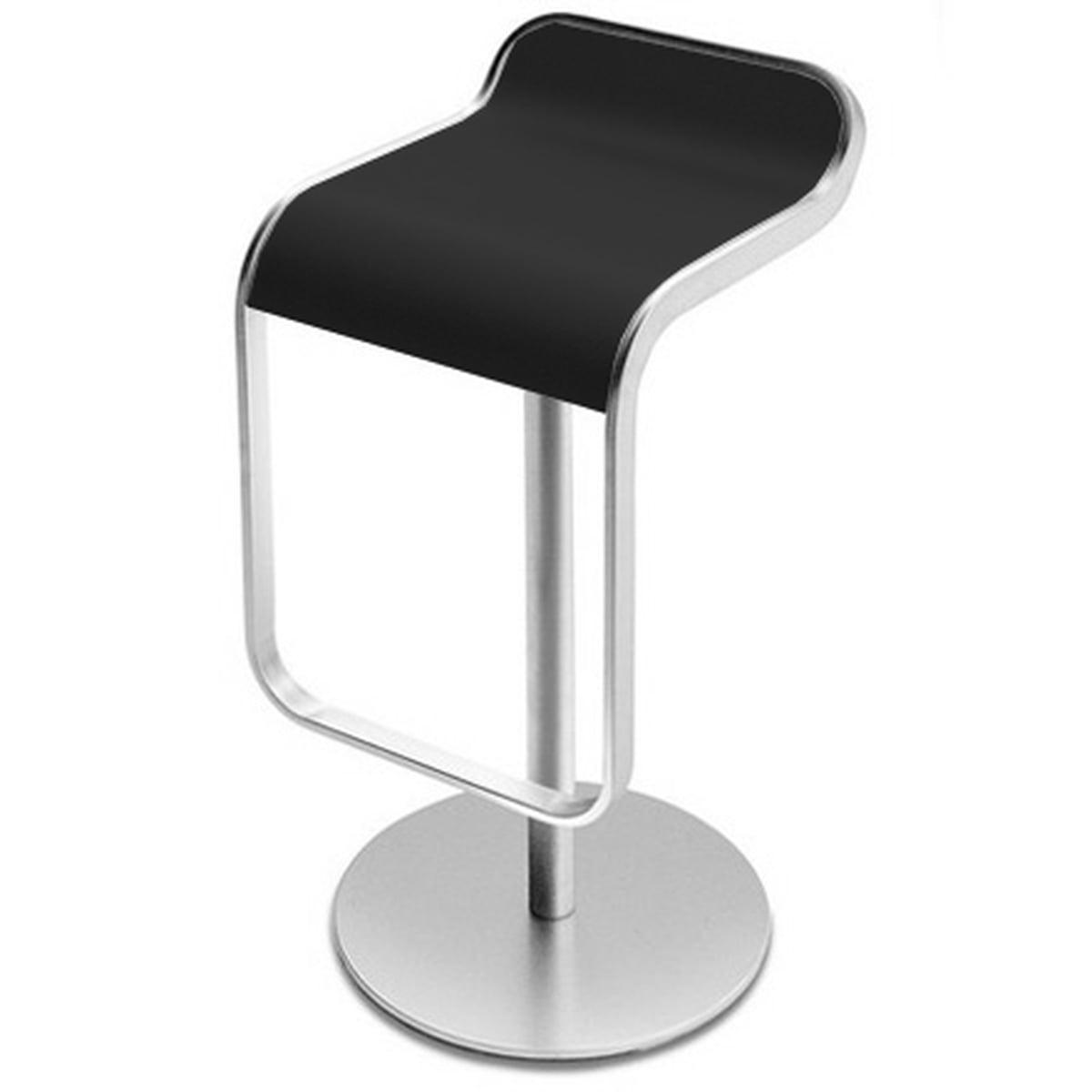 la palma lem barhocker 55 67cm gestell verchromt schwarz schwarz online kaufen bei woonio. Black Bedroom Furniture Sets. Home Design Ideas