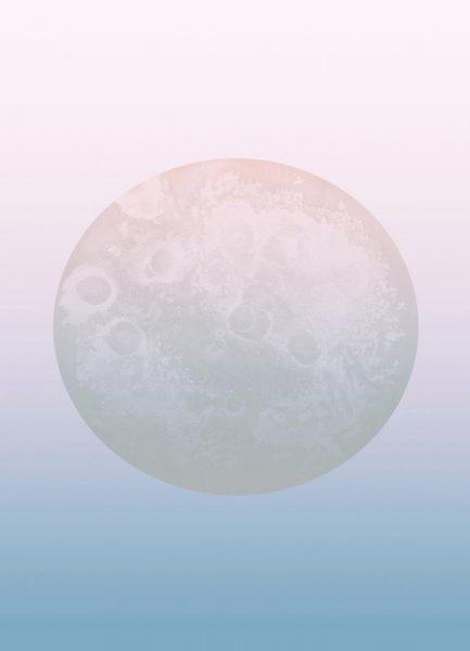 Light Moon Leinwandbild