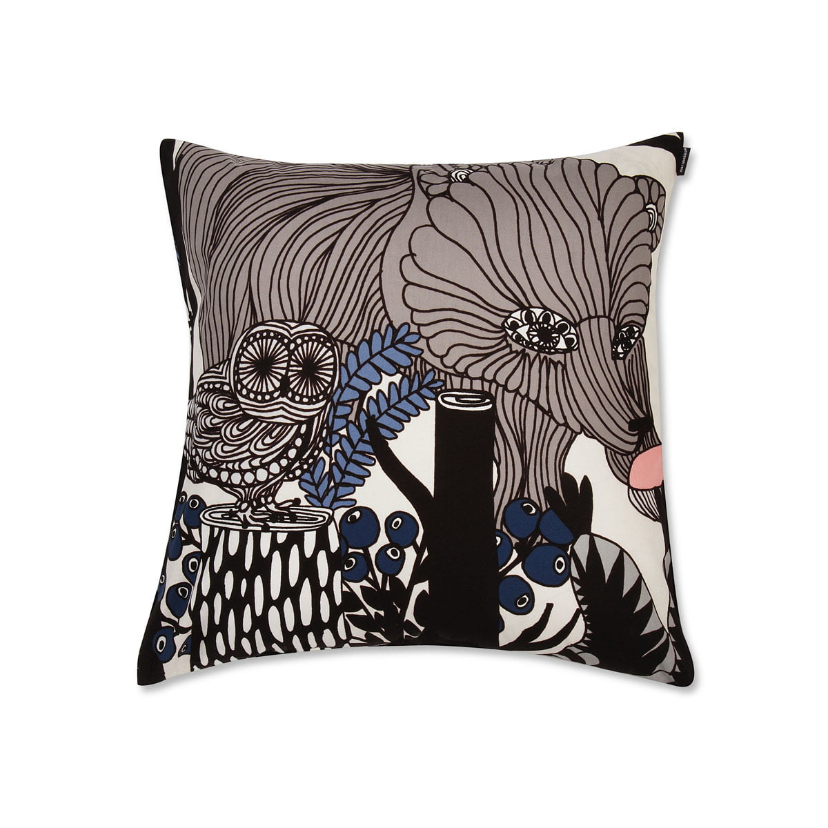 marimekko veljekset kissenbezug 50 x 50 cm mehrfarbig. Black Bedroom Furniture Sets. Home Design Ideas