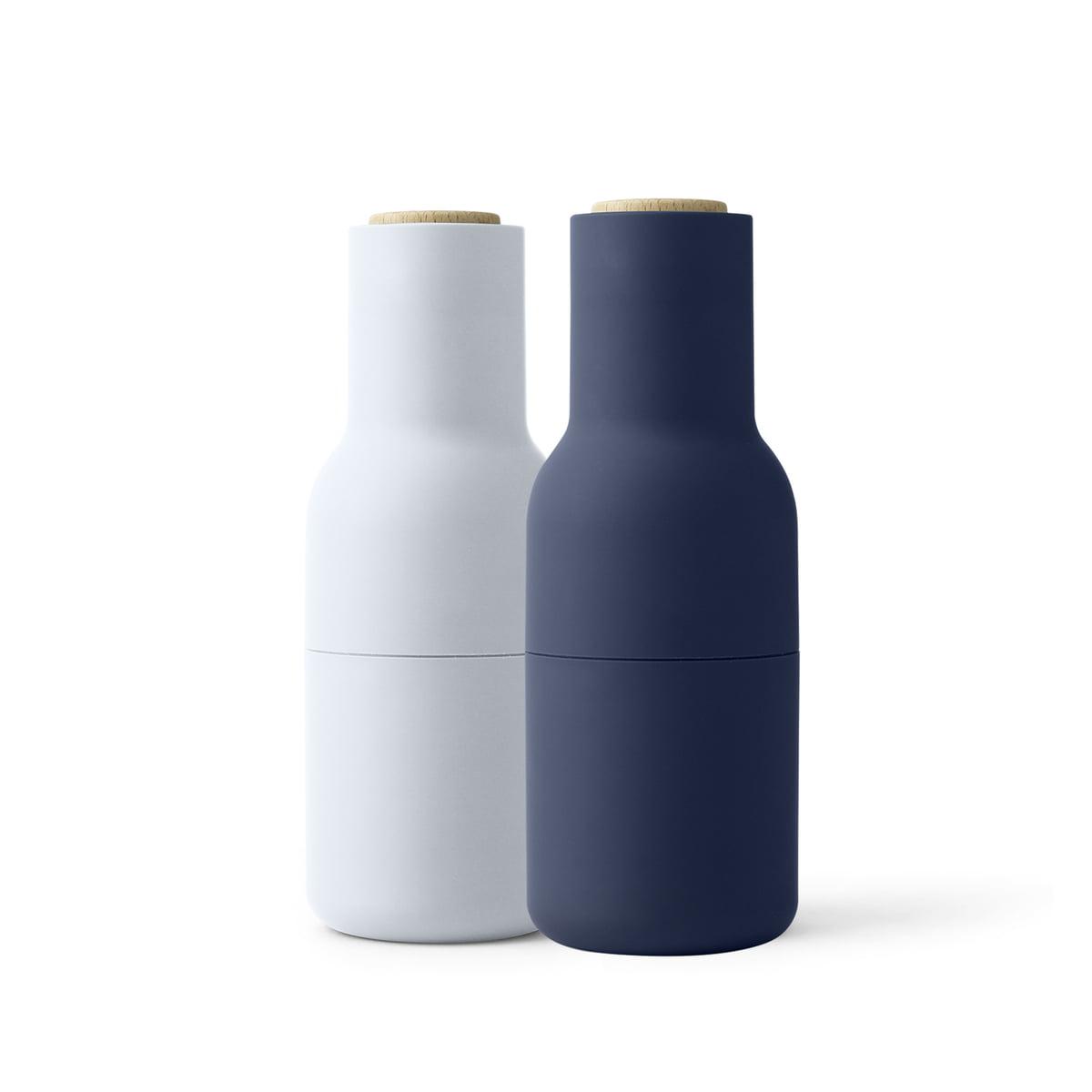 menu bottle salz und pfefferm hlen set classic blue. Black Bedroom Furniture Sets. Home Design Ideas