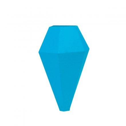 Minivase LOM mit Magnetbefestigung blau blau Polyamid