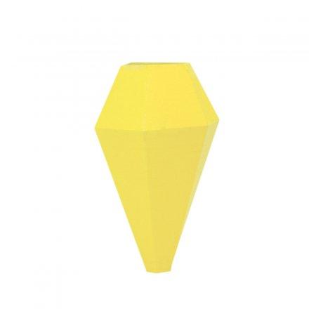 Minivase LOM mit Magnetbefestigung gelb gelb Polyamid