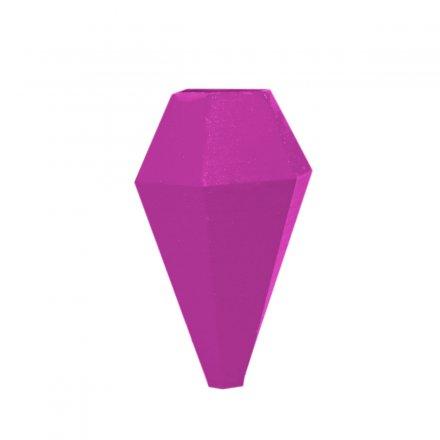 Minivase LOM mit Magnetbefestigung lila  Polyamid