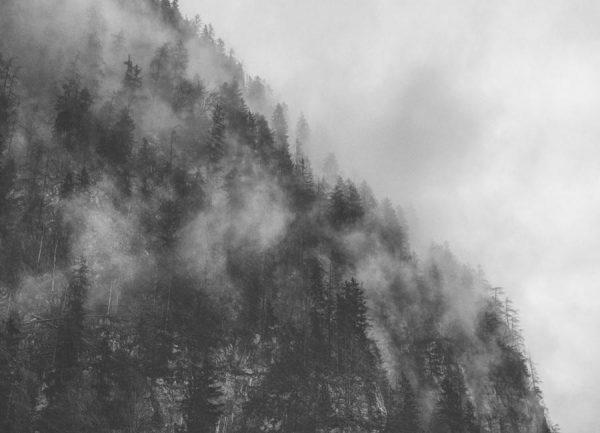 Moody Clouds 3 Leinwandbild