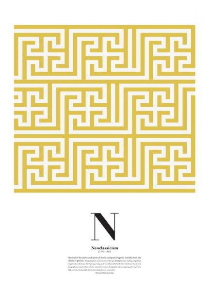 N Neoclassicism Leinwandbild
