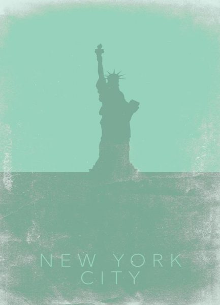 New York City Leinwandbild