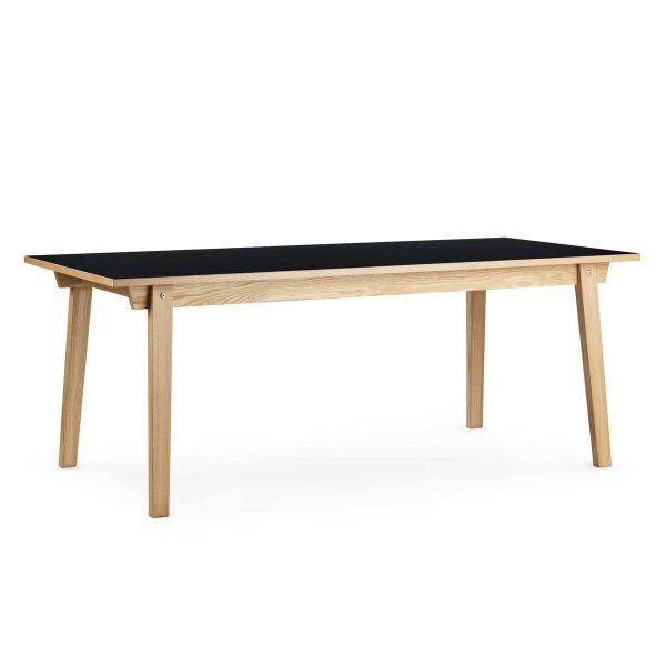 Normann Copenhagen - Slice Table Linoleum 84 x 160 cm