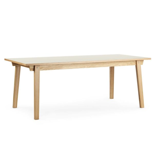 Normann Copenhagen - Slice Table Linoleum 90 x 200 cm