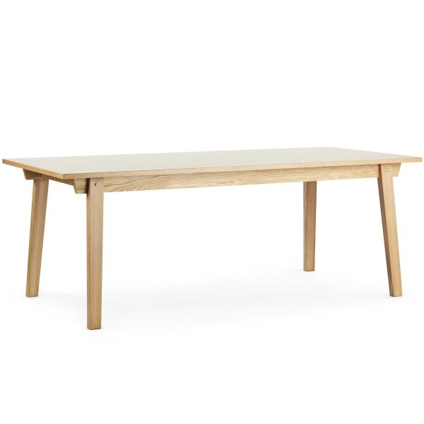 Normann Copenhagen - Slice Table Linoleum 90 x 250 cm