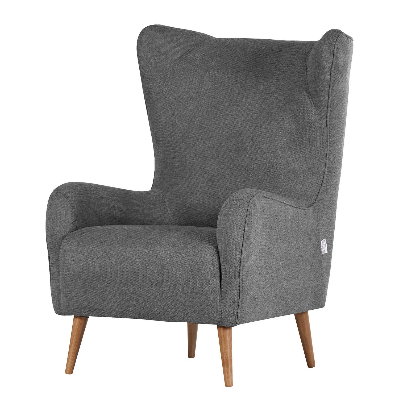 ohrensessel raze flachgewebe graumetallic morteens online kaufen bei woonio. Black Bedroom Furniture Sets. Home Design Ideas