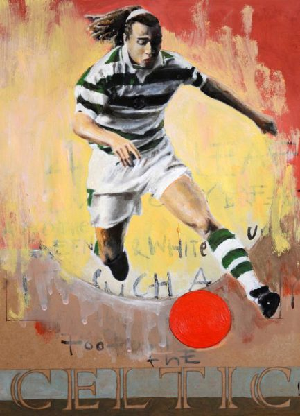 One Love Celtic Leinwandbild