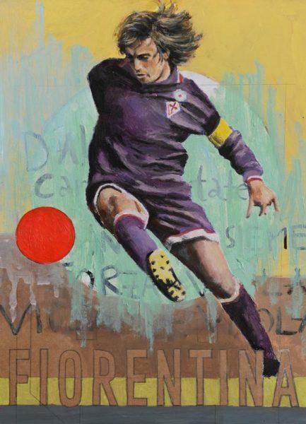 One Love Fiorentina Leinwandbild