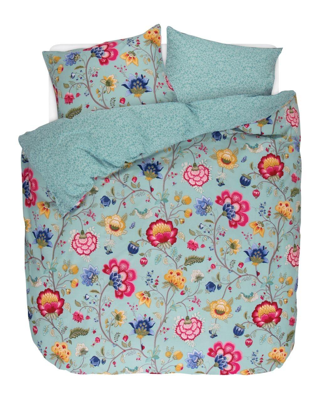 pip studio floral fantasy perkal bettw sche online kaufen bei woonio. Black Bedroom Furniture Sets. Home Design Ideas