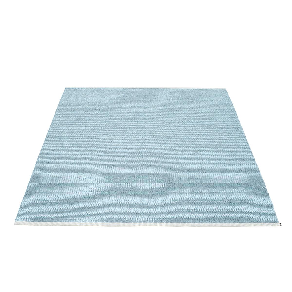 pappelina mono teppich 180 x 220 cm misty blue ice blue blau t 180 h 0 b 220 online kaufen. Black Bedroom Furniture Sets. Home Design Ideas